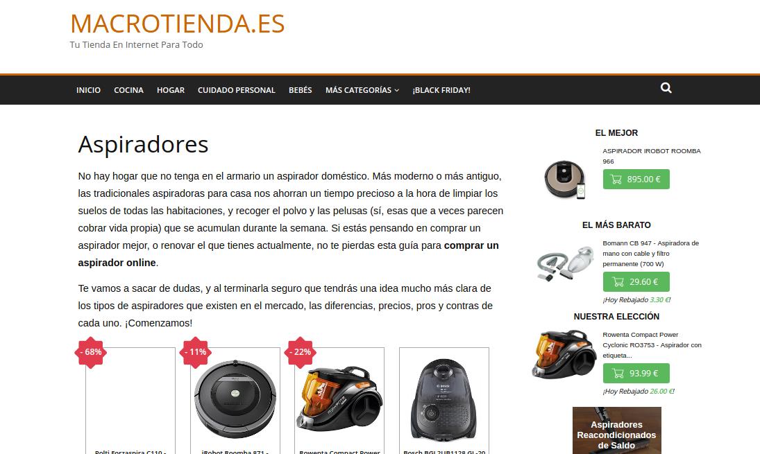 Macrotienda.es