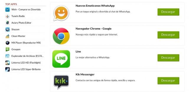 Apps para iOS y Android en ProgramasGratis.es