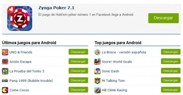 Descargarjuegos.com ya ofrece juegos para smartphones y tablets